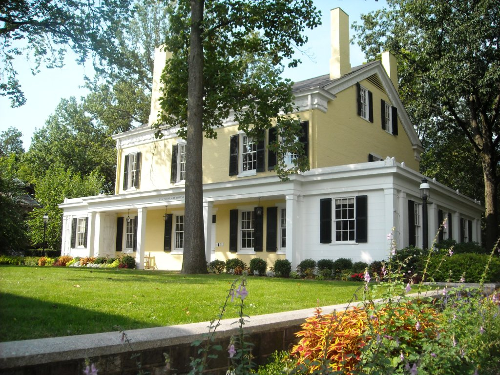 The Joseph Henry House was built in 1838 and named after one the country's more important scientists of the 19th century.