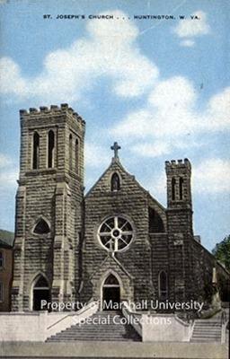 St. Joseph's Church, circa 1940