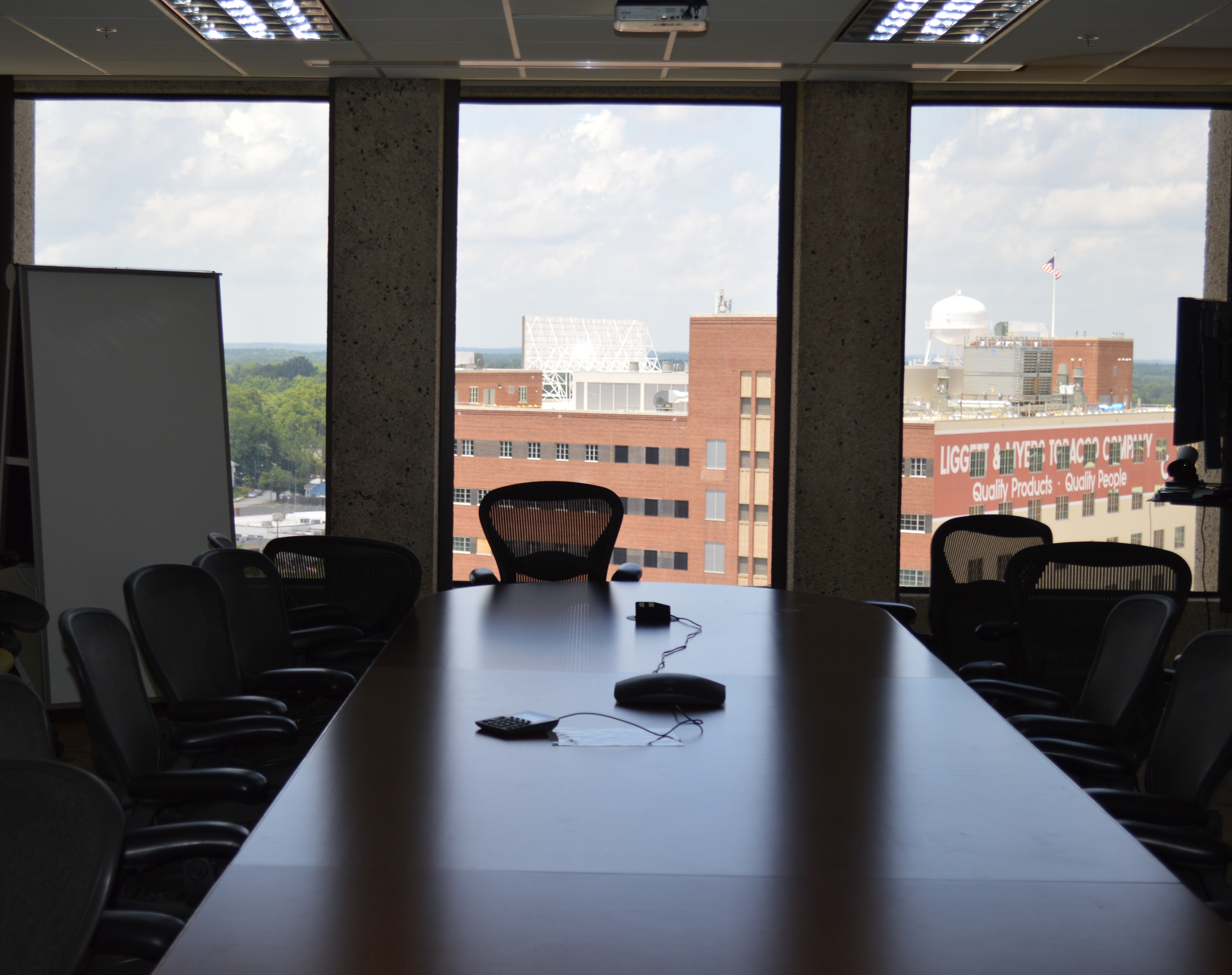 View of 7th floor conference room.