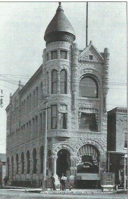 First National Bank Building located at 300 South Grant Street, c.1900-05.