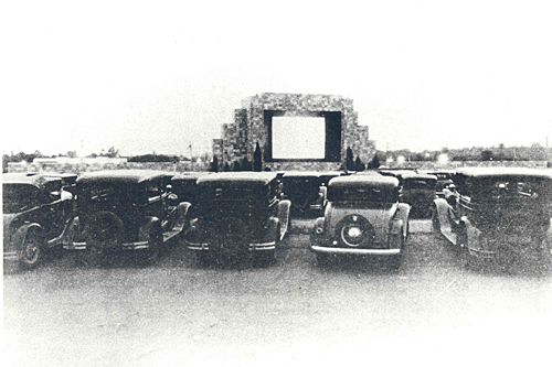 World's first drive-in movie theatre