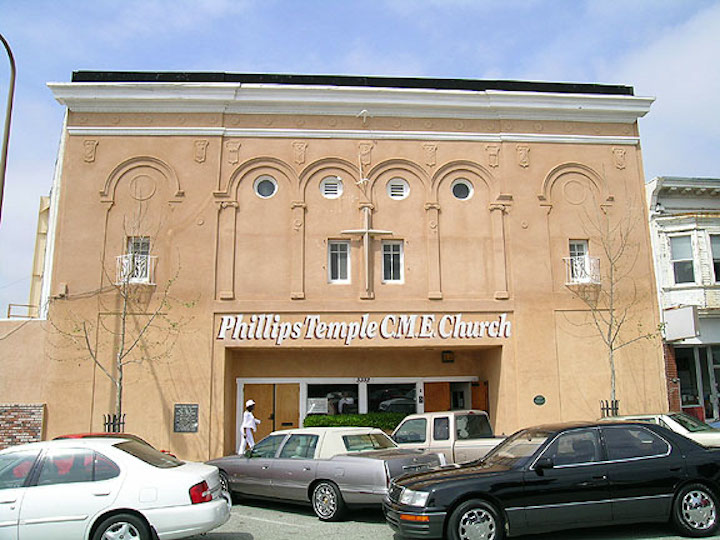 The former theater is now Phillips Temple