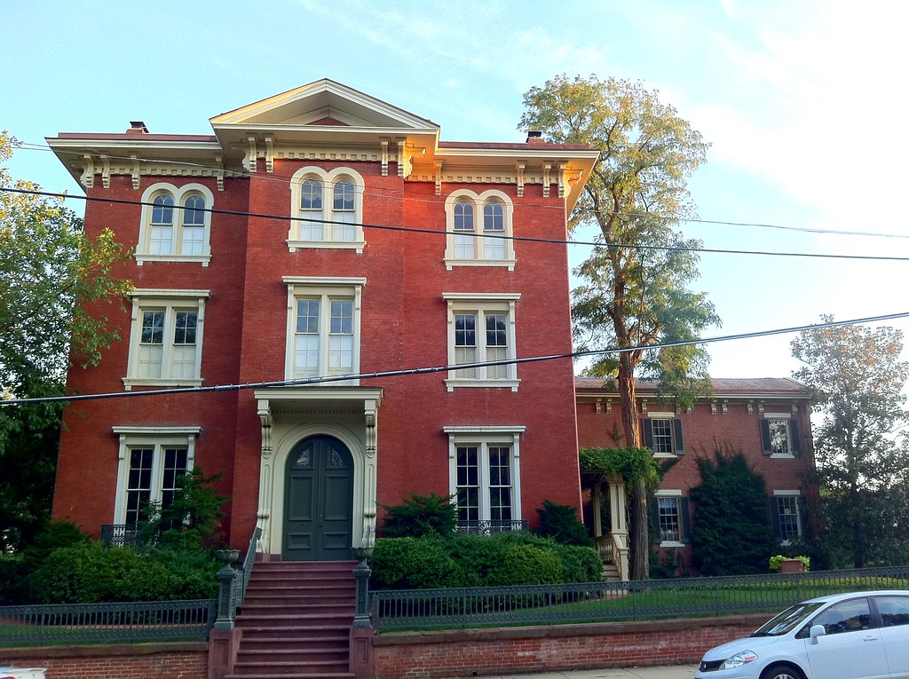 The Vowell-Smith House was built in 1854 and is one of the largest homes ever built in Alexandria.