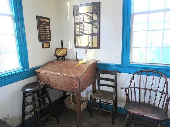 Another writing desk in the office.