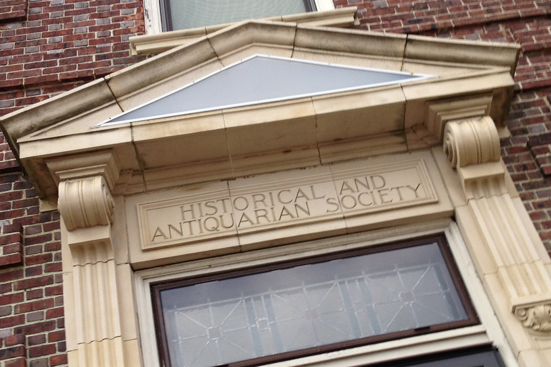 Archway of the Vineland Historical and Antiquarian Society.