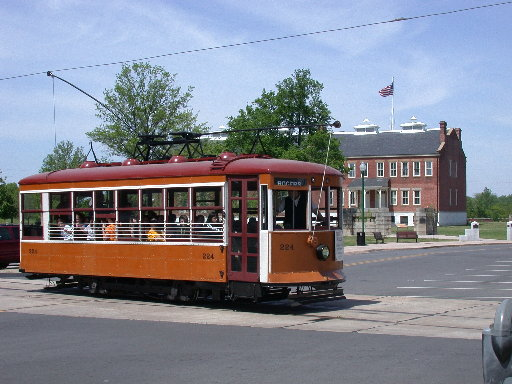 Fort Smith Trolley Museum offers several events and operates a trolley daily.