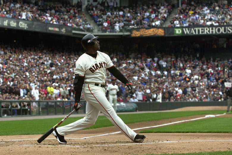 Bonds sets single-season hr record with 73