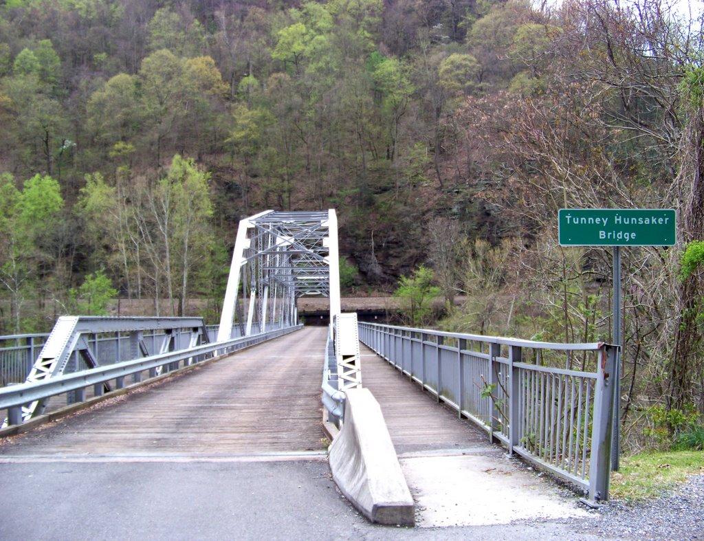The Tunney Hunsaker Bridge.