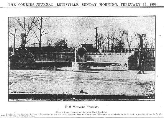Ruff Memorial Bench (Past)