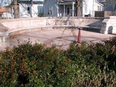 Ruff Memorial Bench (recent)