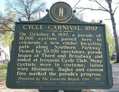 Cycle Carnival Marker