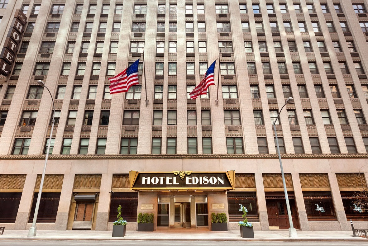 The Hotel Edison in New York City