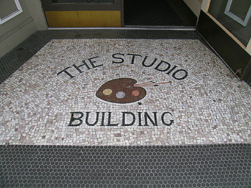 Entrance to the Studio Building
