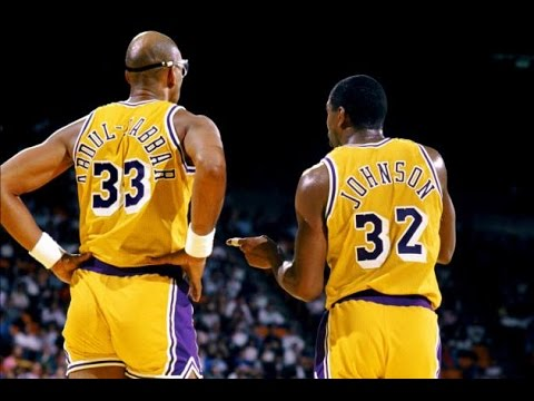 Kareem and teammate, Magic Johnson led the LA Lakers to become one of the most dominant NBA franchises of all time.