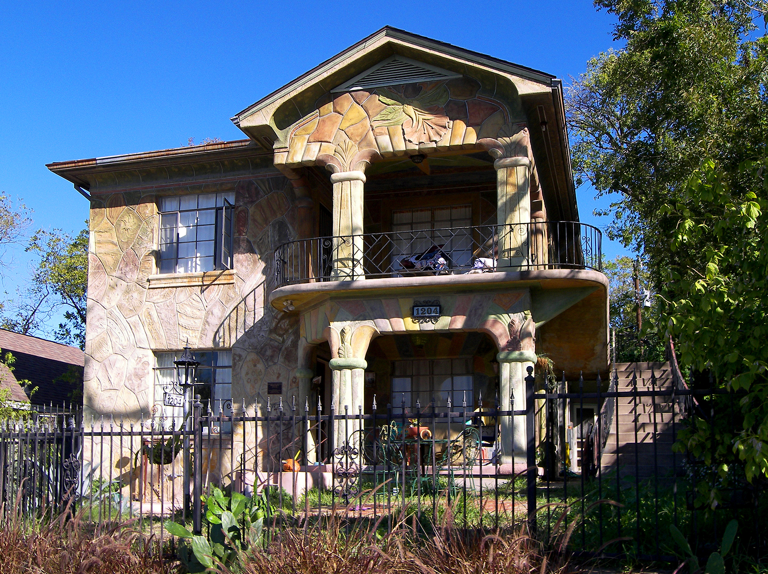 The Genaro P. and Carolina Briones House is one of the more unique homes in Austin, as it is an excellent example of Texas folk architecture.