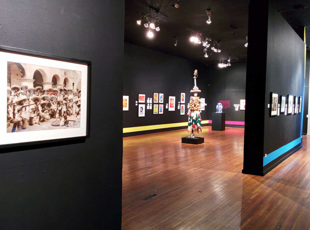 The Mexic-Arte displays many exhibits both temporary and permanent, contemporary and historical. Image obtained from moderntejana.com.