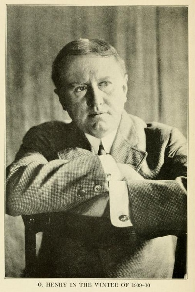 Known for his dry humor and twist endings, O. Henry's short stories were wildly popular in the early 1900s. Image obtained from americanliterature.com.