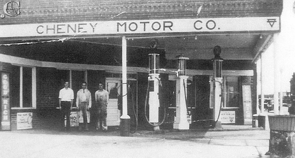Cheney Motors about 1935