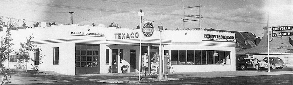 Cheney Motors about 1948