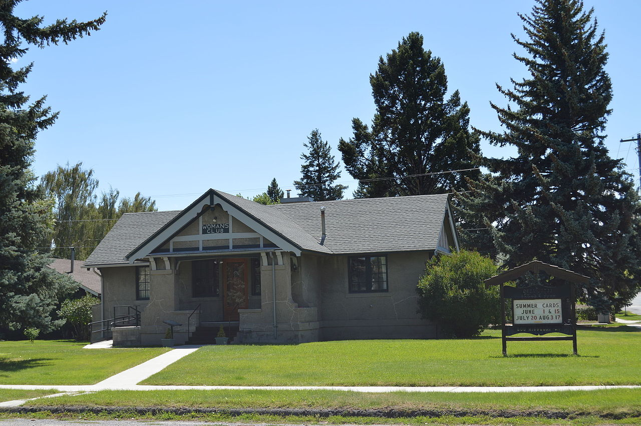 The Deer Lodge Women's Club building was constructed in 1910 and has remained an important gathering place for women in Deer Lodge.