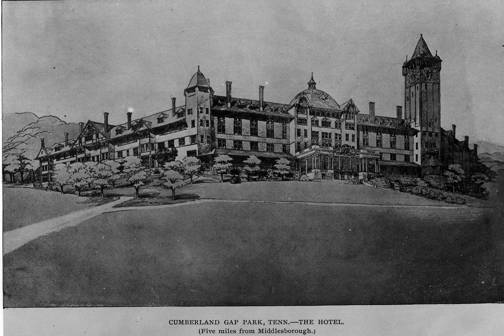 The Four Seasons Hotel as it appeared in 1892. From a postcard.