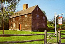 The Jabez Howland House (Courtesy of Destination Plymouth County)