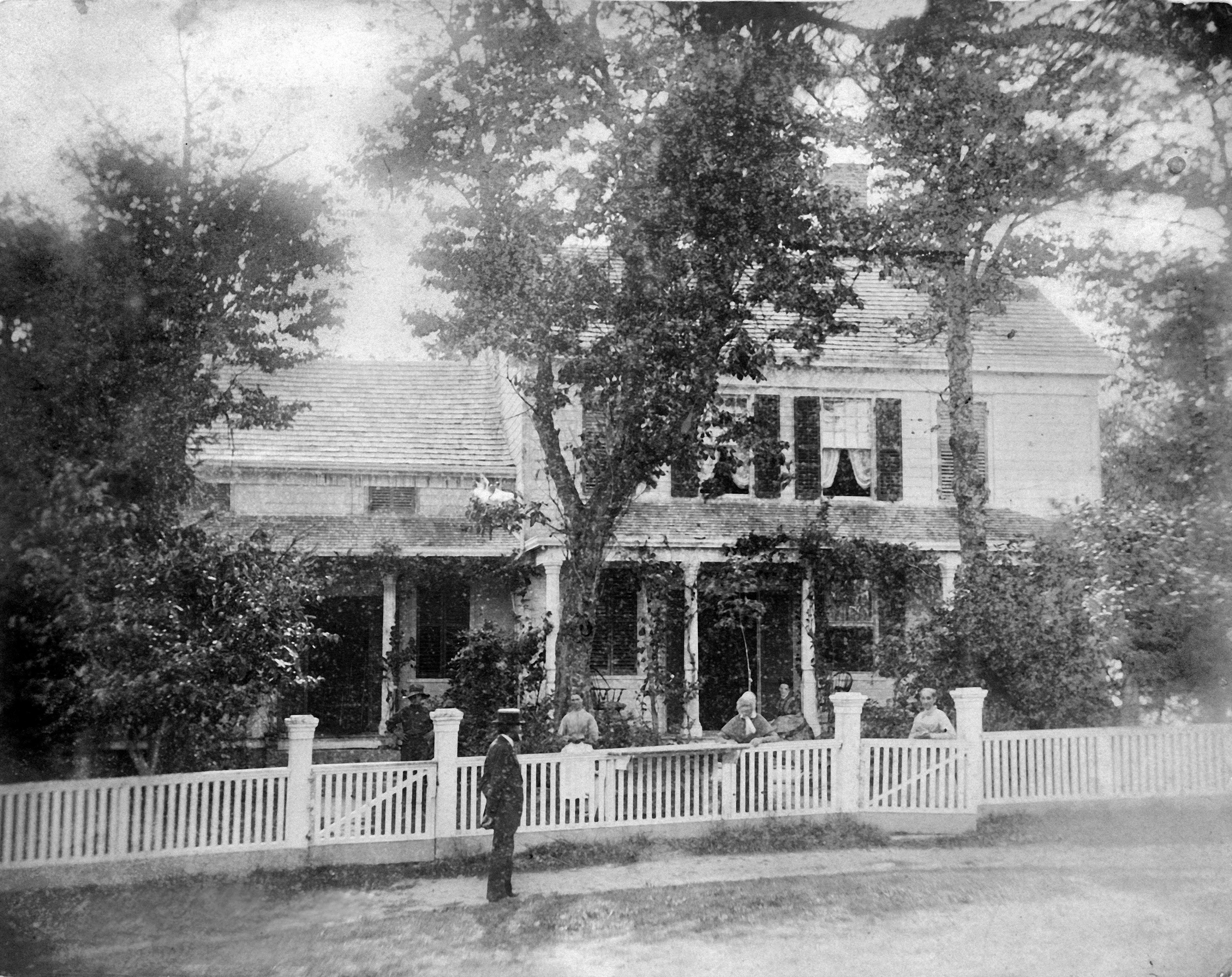 The Homestead in the 1860s