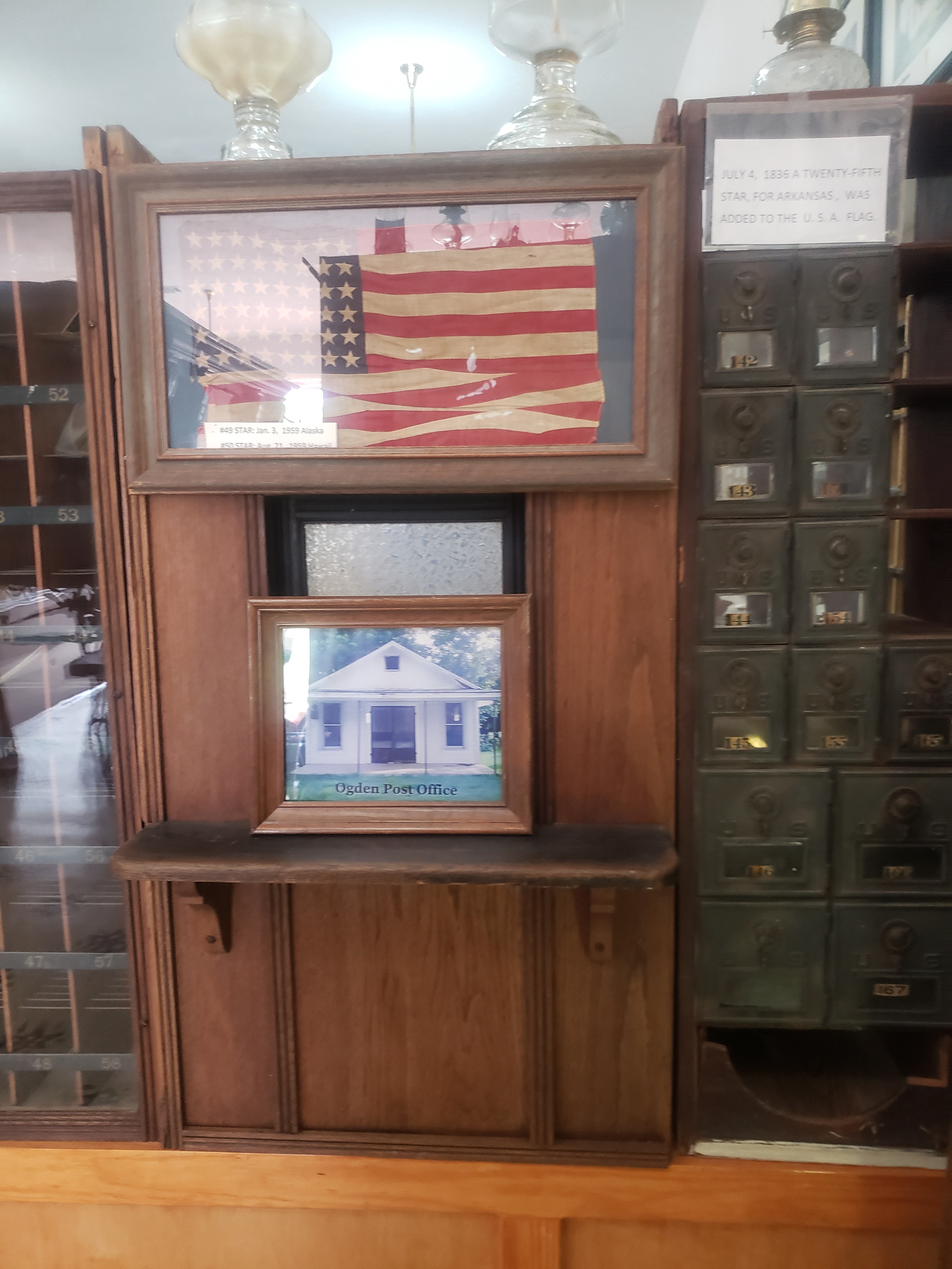 Mailboxes and Ogden Post Office
