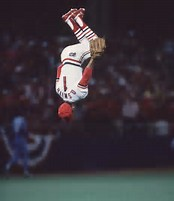 Ozzzie Smith's famous backflip.