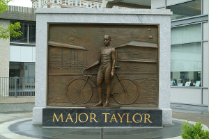 This statue was dedicated in 2008 thanks to donations from local organizations and people around the country.