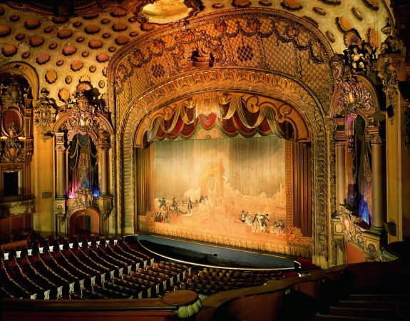 A shot of the Theatre's interior and stage.