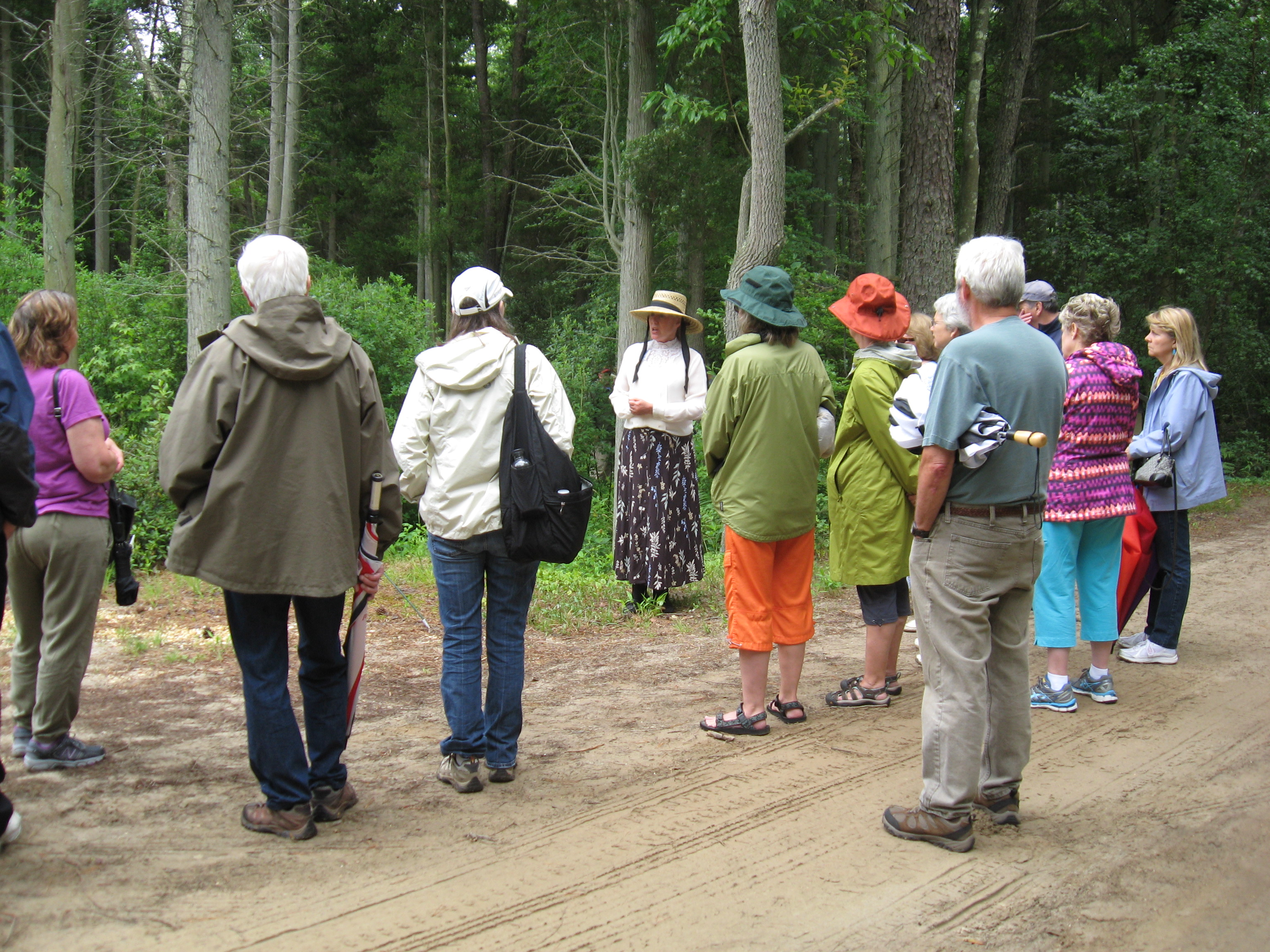 Tour groups and field trips can be scheduled through the Trust office or by email at WhitesbogPreservationTrust@gmail.com