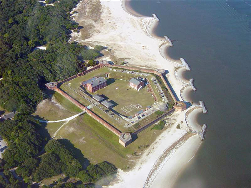 Fort Clinch is part of the Florida State Park system and visitors can tour the fort and enjoy the natural beauty of the park.