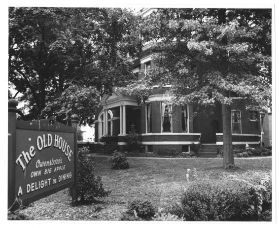The Old House Restaurant, 1978