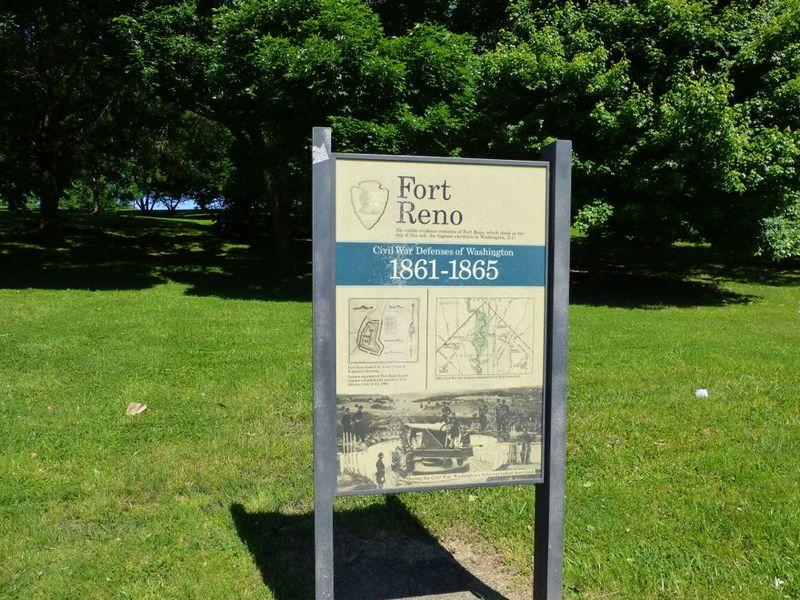 National Park Service marker.