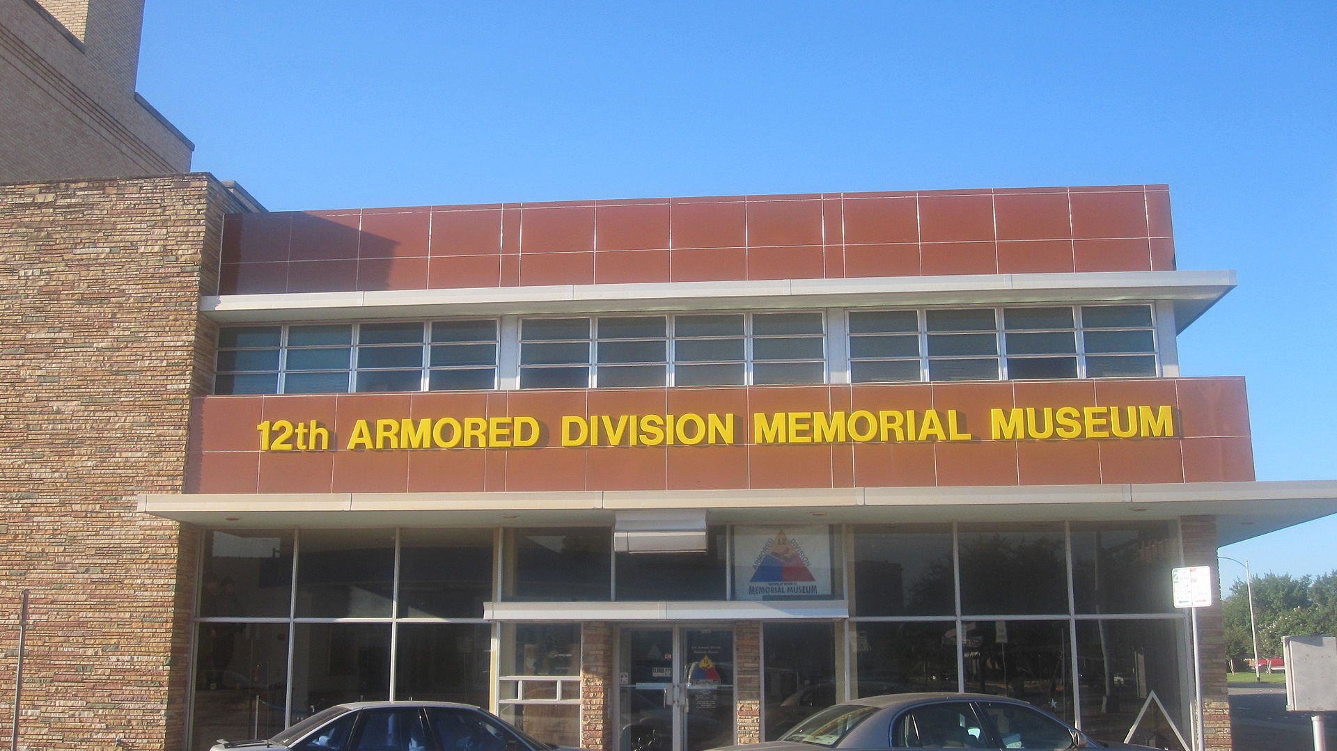 The 12th Armored Division Memorial Museum opened in 2001.