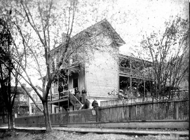 The house ca. 1900.