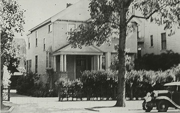 The Blood House as it appeared in the early twentieth century