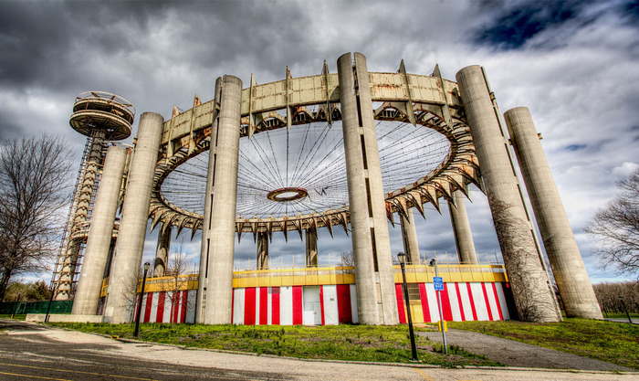 The New York State Pavilion Today