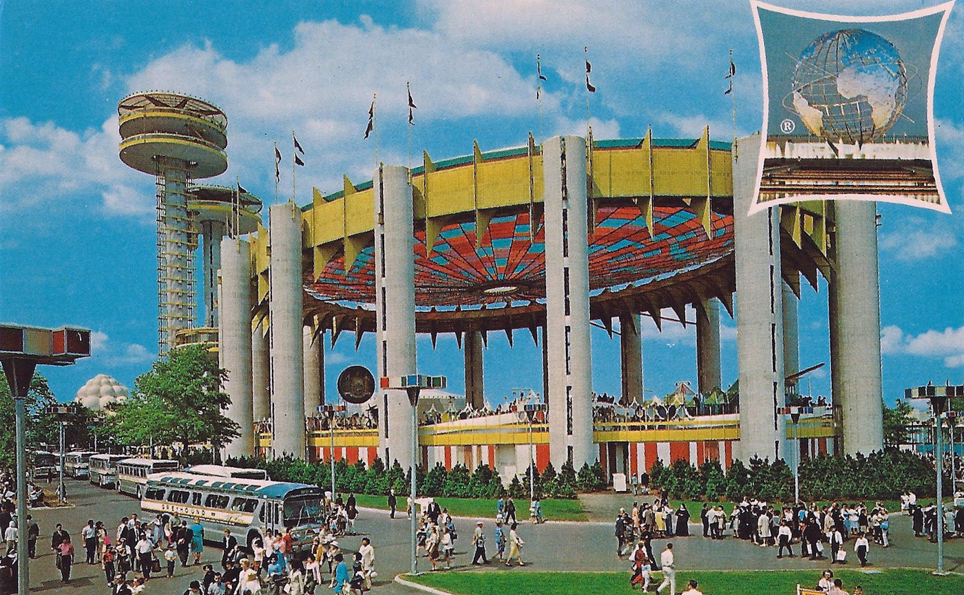 The New York State Pavilion in 1964