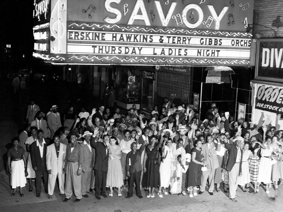 The Savoy was one of the cultural hubs of Harlem from the 1920s to the 1950s.