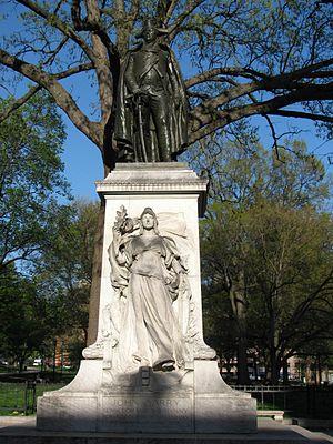 Closer look at the John Barry Memorial
