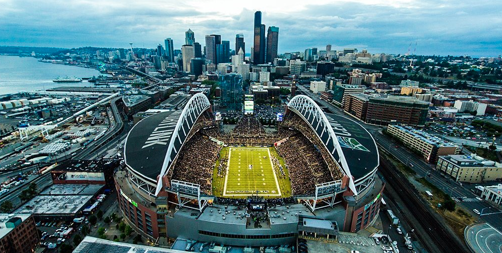CenturyLink Field in Seattle