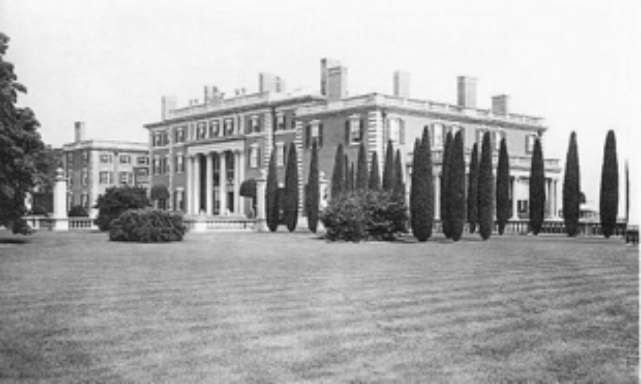 The Florham Mansion circa 1907