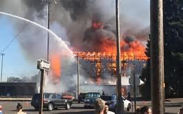 Civic stadium fire of 2015
