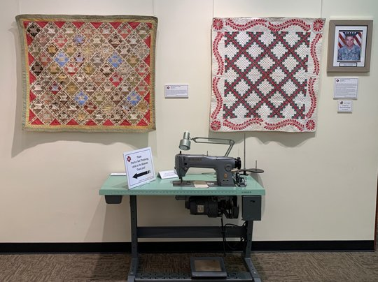 Quilts from the 1830s