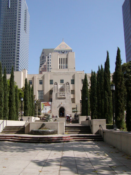 Los Angeles Central Library Building and Grounds.