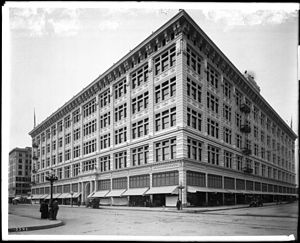 A shot of the building from 1912.