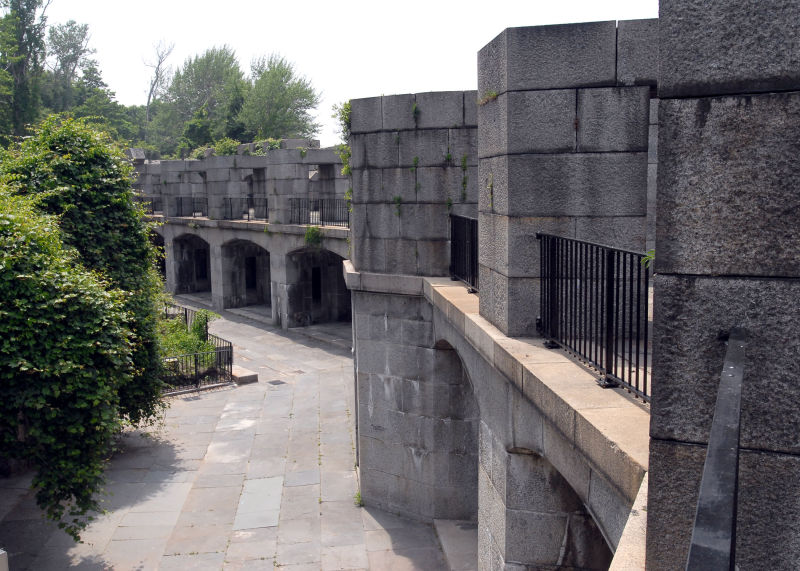 Fort Totten Wall