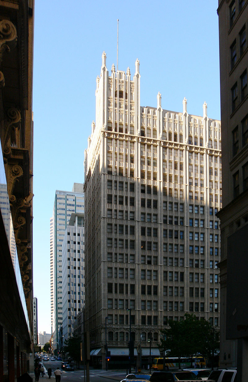 The Kirby Building was originally built in 1913.
